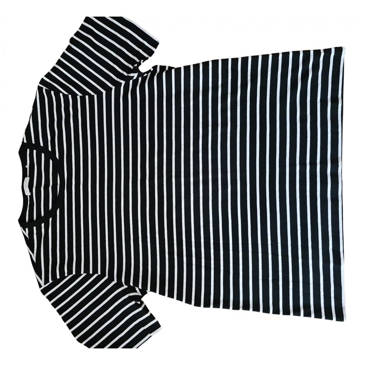 Sandro - Tee shirts Spring Summer 2019 pour homme en coton - noir
