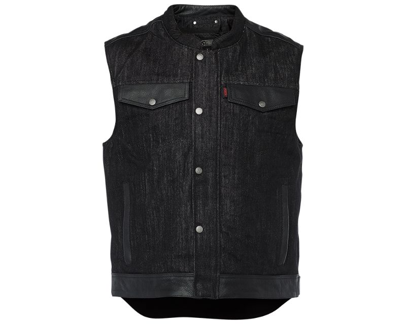 Speed and Strength 885058 Rover Denim Vest Black 3XL
