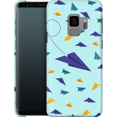 Samsung Galaxy S9 Smartphone Huelle - Paper Planes von caseable Designs