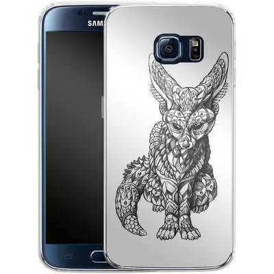 Samsung Galaxy S6 Silikon Handyhuelle - Fennec-Fox von BIOWORKZ