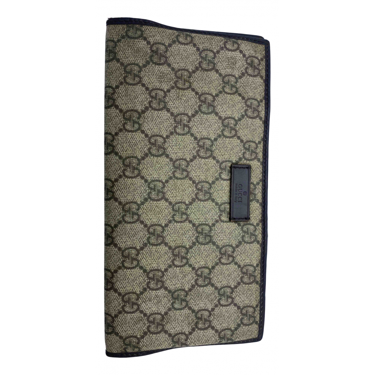 Gucci N Beige Cloth wallet for Women N
