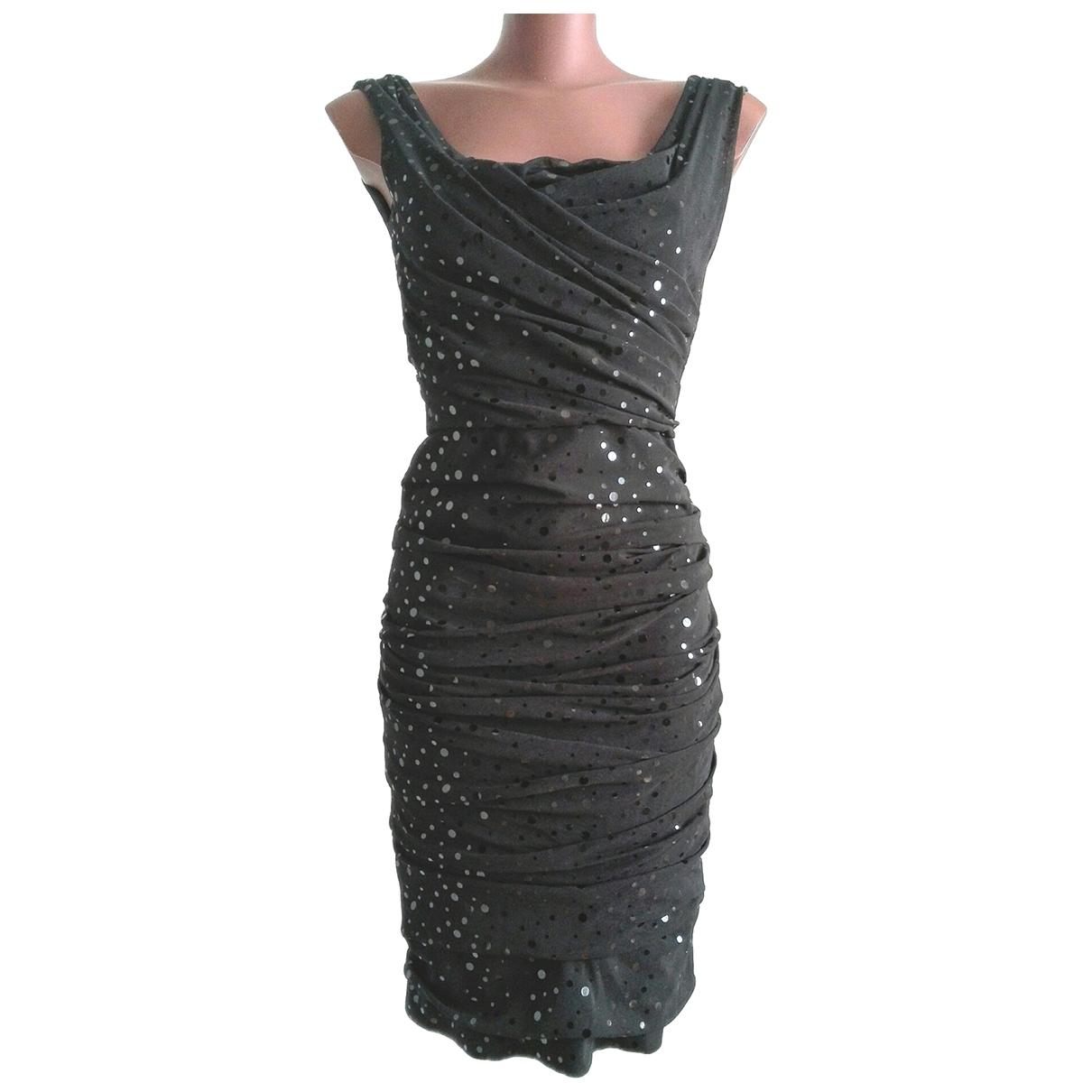 Vestido midi de Con lentejuelas Dolce & Gabbana