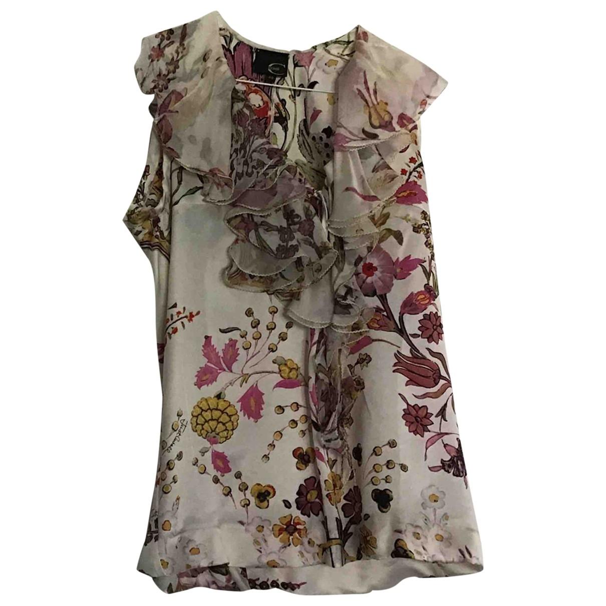 Just Cavalli \N Pink Silk  top for Women 38 IT