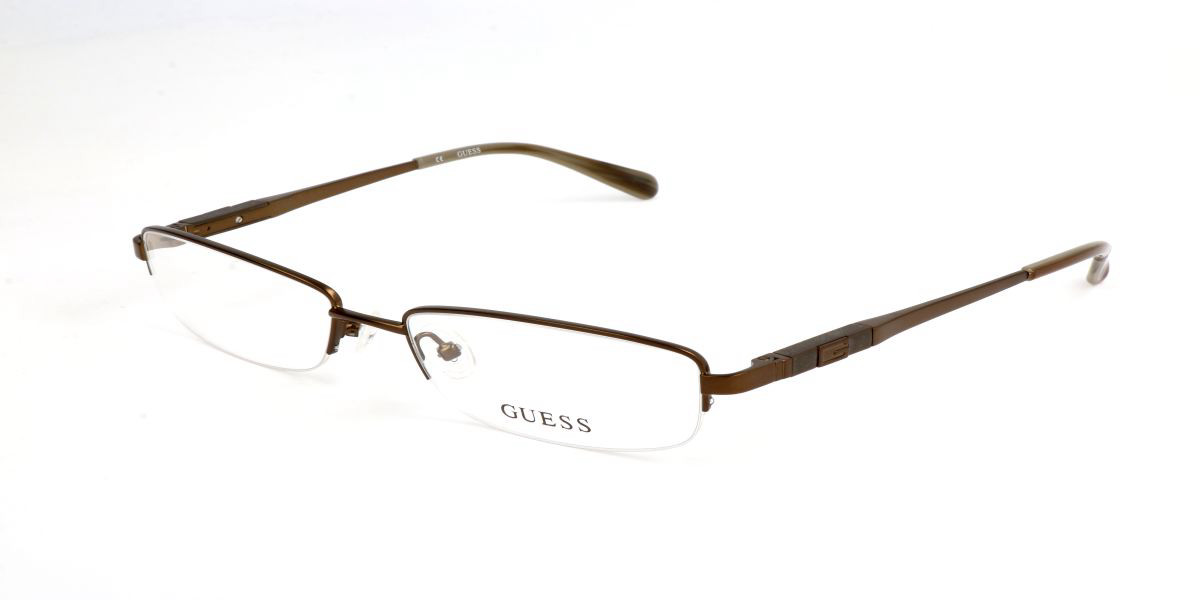 Guess GU 1816 D96 Men's Glasses Brown Size 54 - Free Lenses - HSA/FSA Insurance - Blue Light Block Available