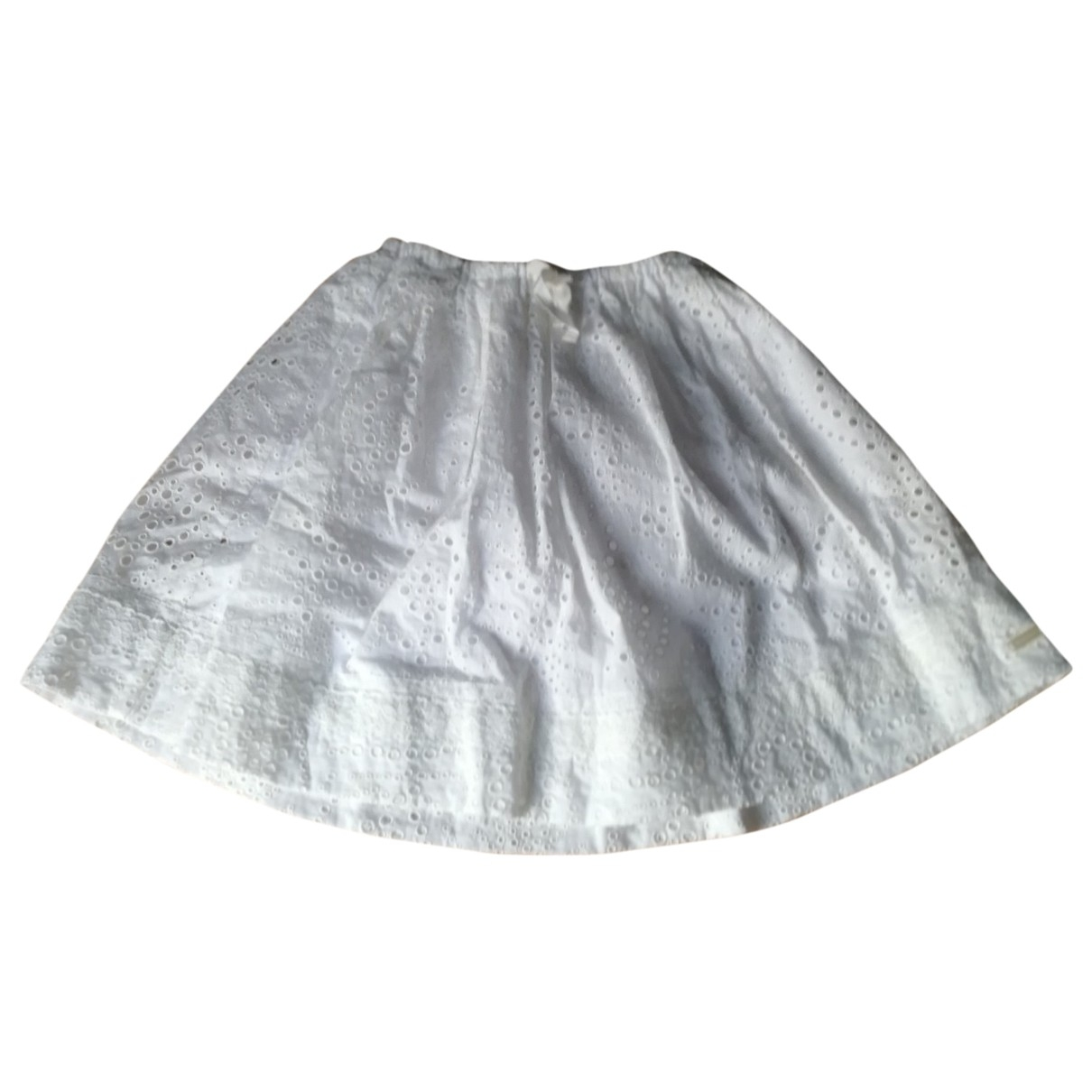 Burberry \N White Cotton skirt for Kids 10 years - up to 142cm FR