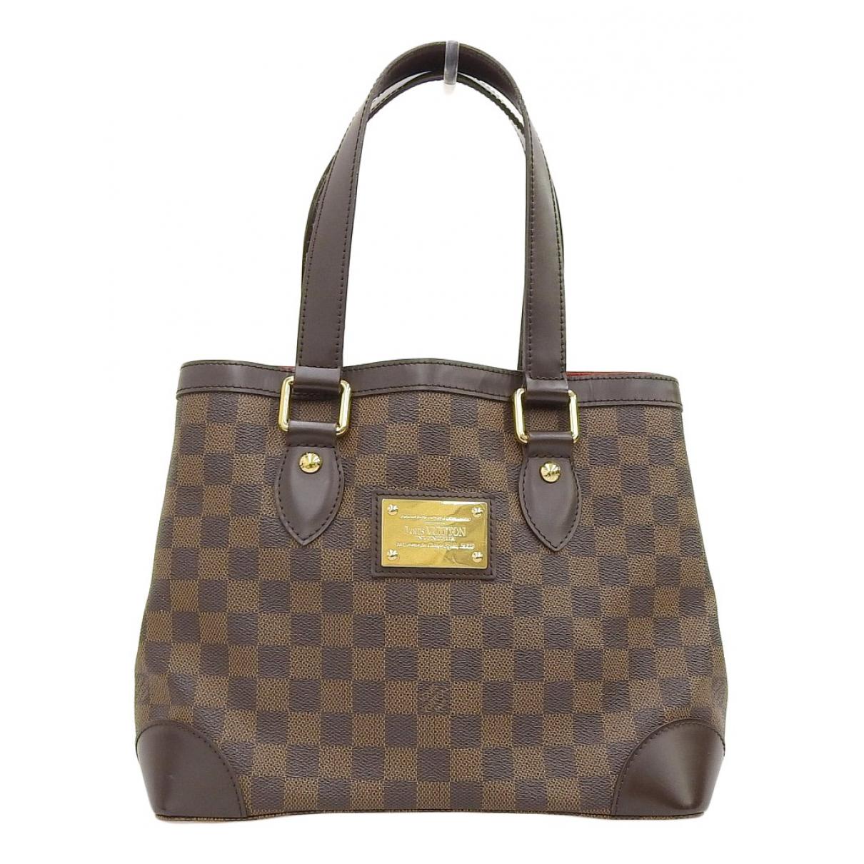 Louis Vuitton Hampstead Brown Cloth handbag for Women N