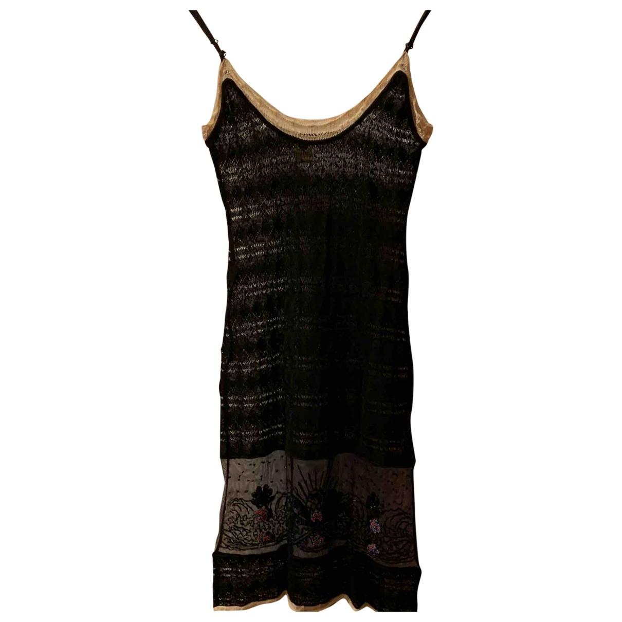 Alessandro Dellacqua - Robe   pour femme en dentelle - noir