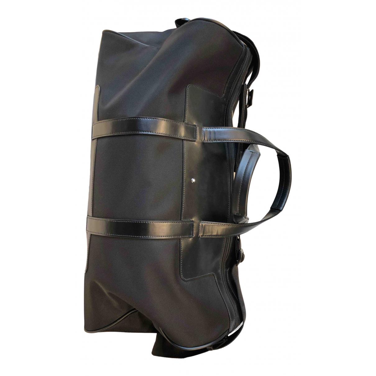 Montblanc - Sac   pour homme en toile - noir