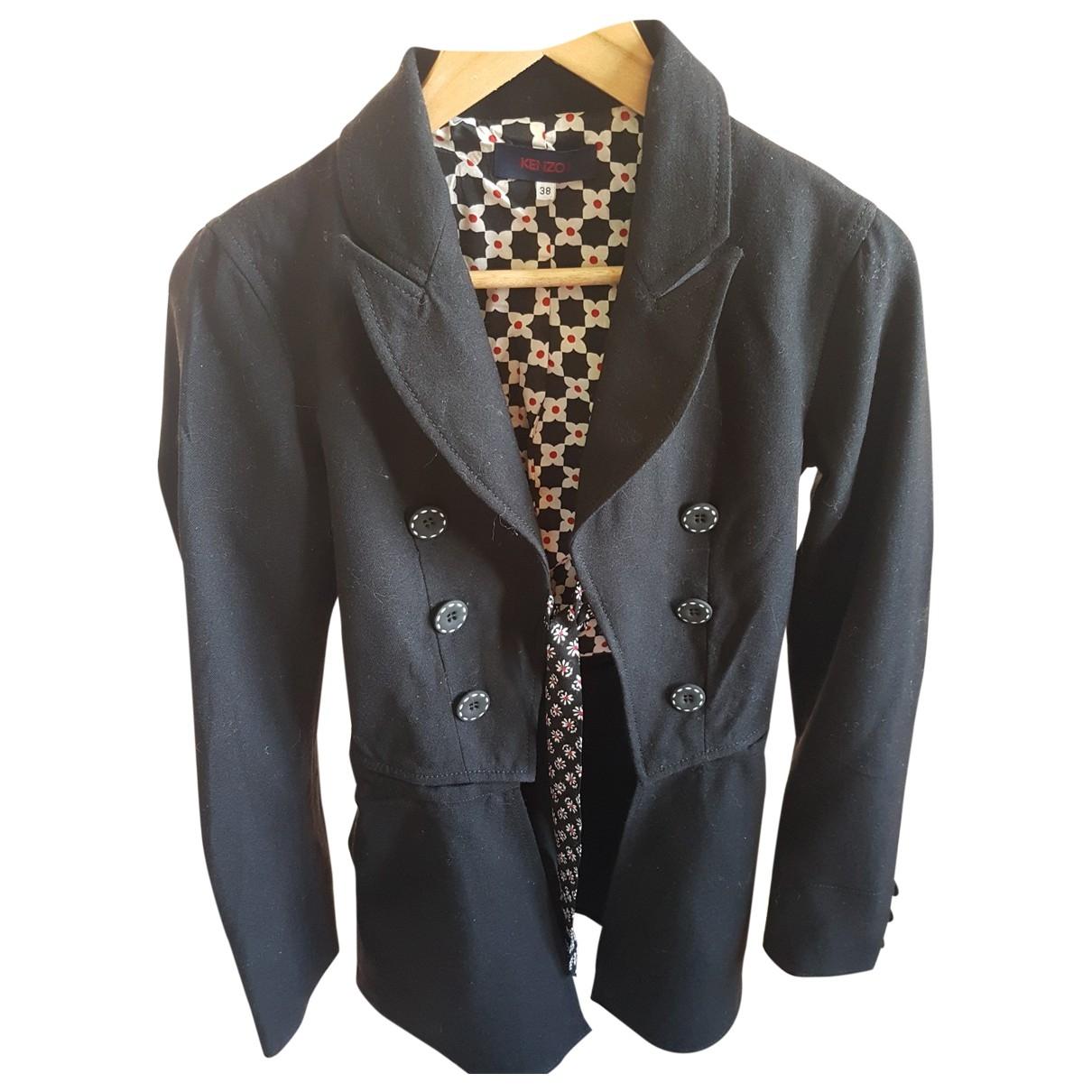 Kenzo - Veste   pour femme en coton - noir