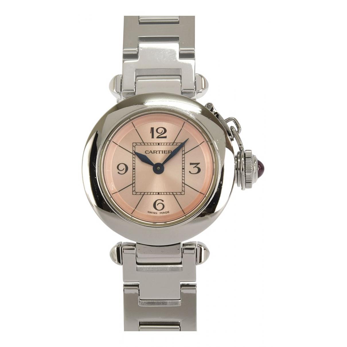 Cartier Pasha Pink Steel watch for Women \N