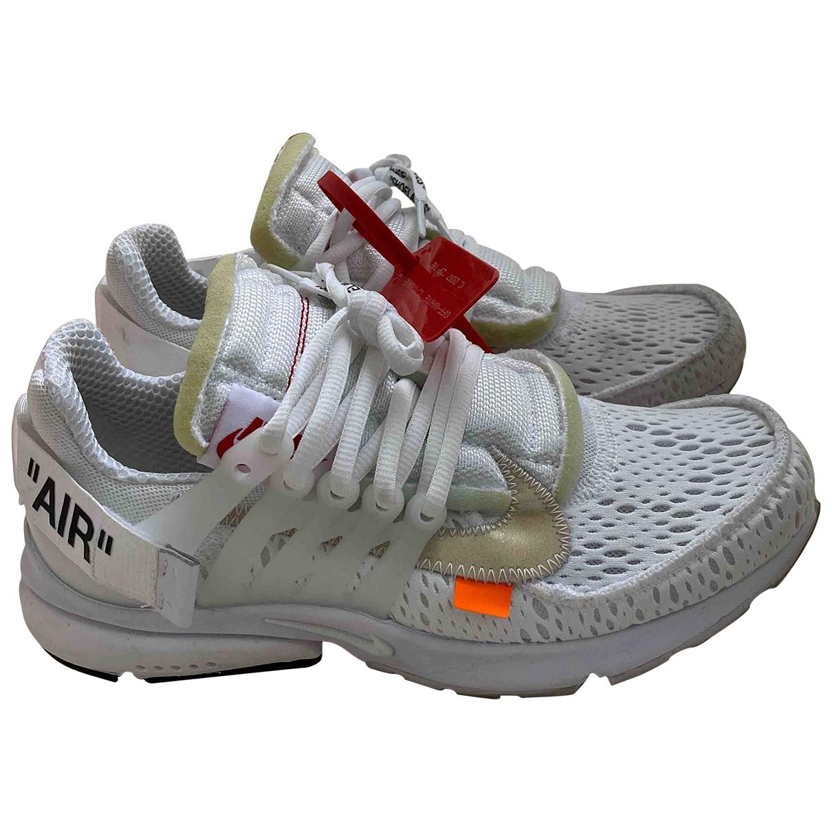 Deportivas Air Presto de Lona Nike X Off-white
