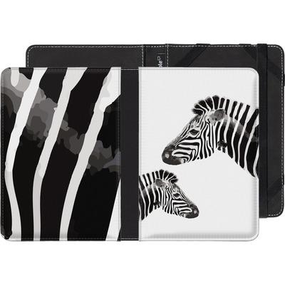 Kobo Glo HD eBook Reader Huelle - Zebra Pride von Mukta Lata Barua