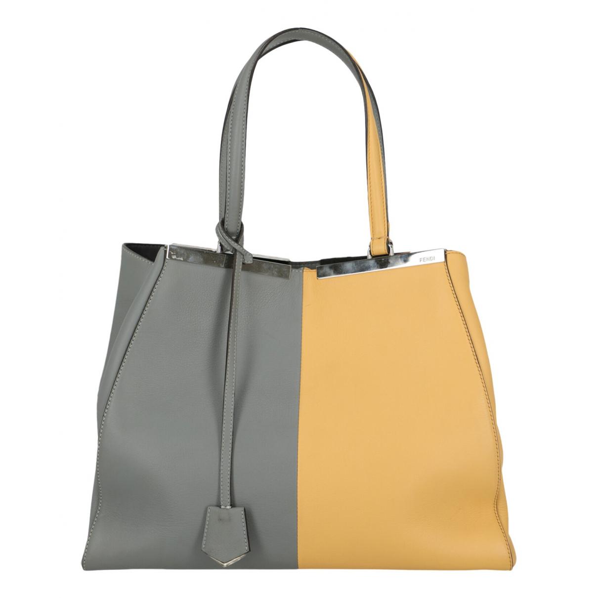 Fendi - Sac a main 3Jours pour femme en cuir - multicolore