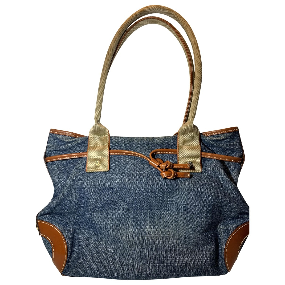 Lancel \N Blue Denim - Jeans handbag for Women \N