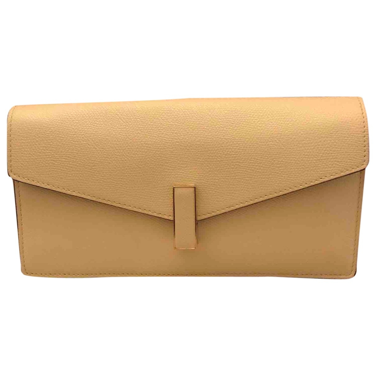 Valextra Iside White Leather Clutch bag for Women \N
