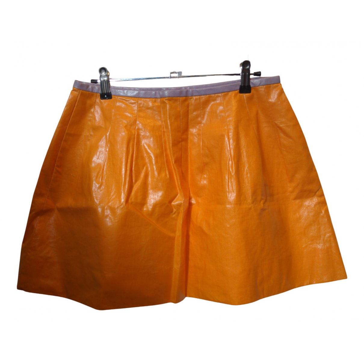 Lisa Perry - Jupe   pour femme en coton - orange