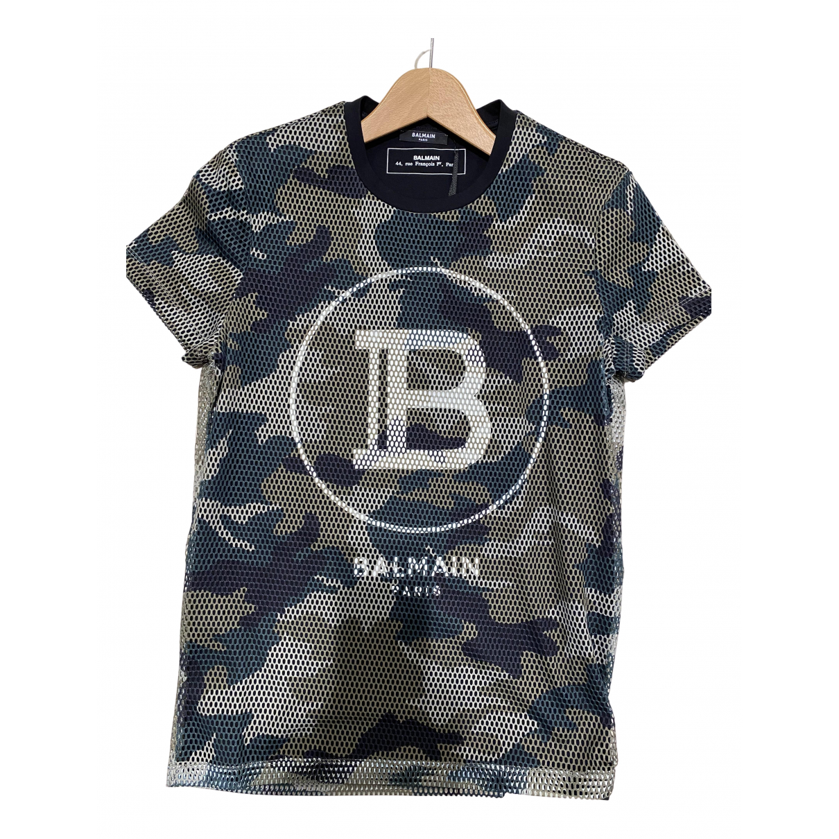 Balmain \N Khaki T-shirts for Men XL International
