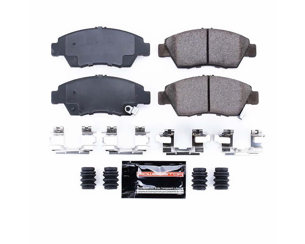 Power Stop Z23-621 Z23 Evolution Sport Brake Pads w/Hardware Front Acura RSX 2002-2006