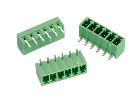 Wurth Elektronik , WR-TBL, 322, 18 Way, 1 Row, Horizontal PCB Header (120)