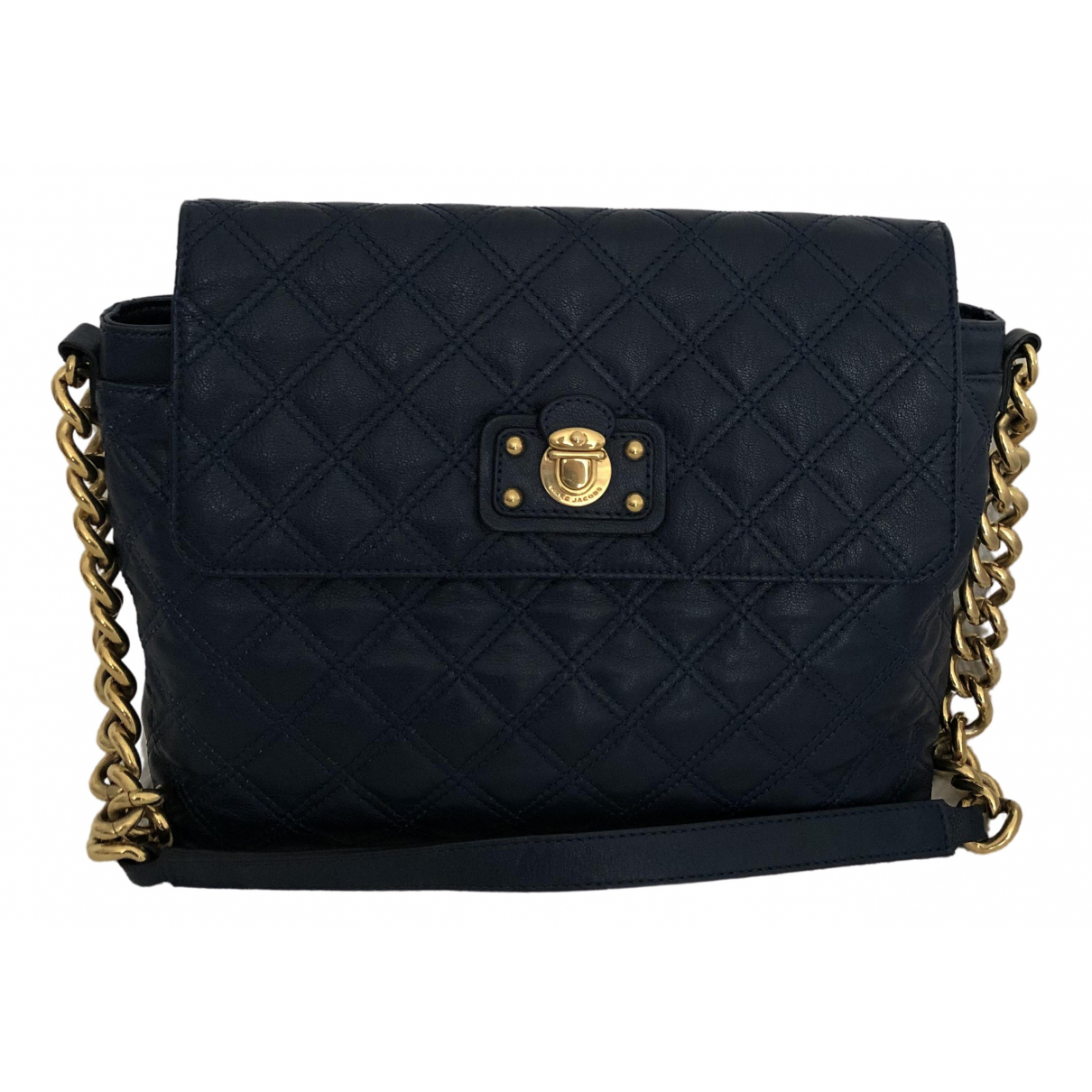 Marc Jacobs Single Blue Leather handbag for Women \N
