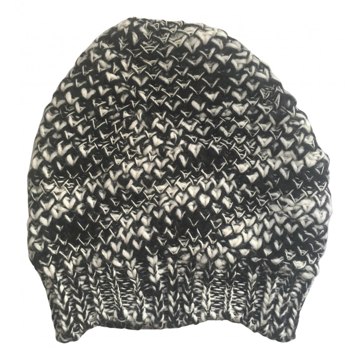 Maje - Chapeau   pour femme en laine - multicolore