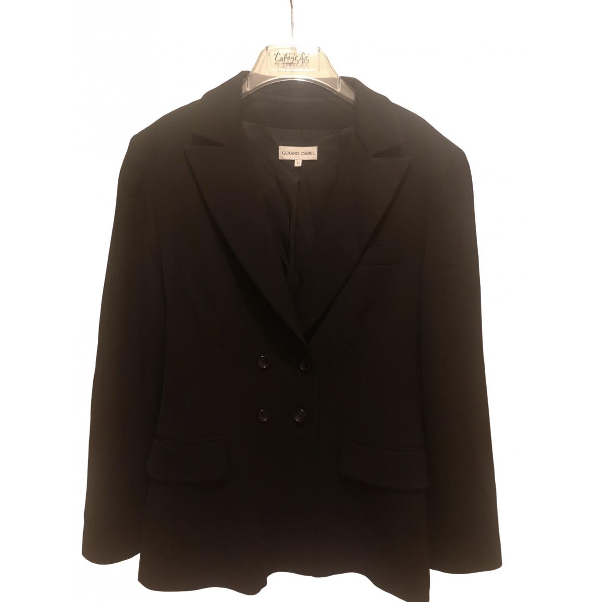 Gerard Darel - Veste   pour femme en coton - noir