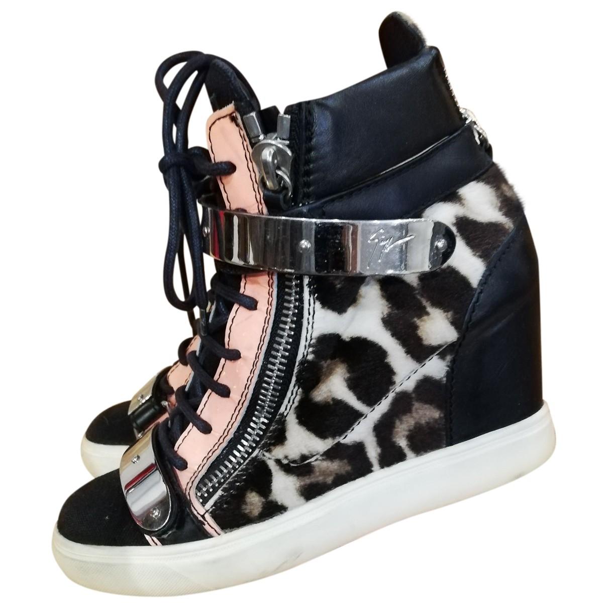 Giuseppe Zanotti Donna Sneakers in  Bunt Leder