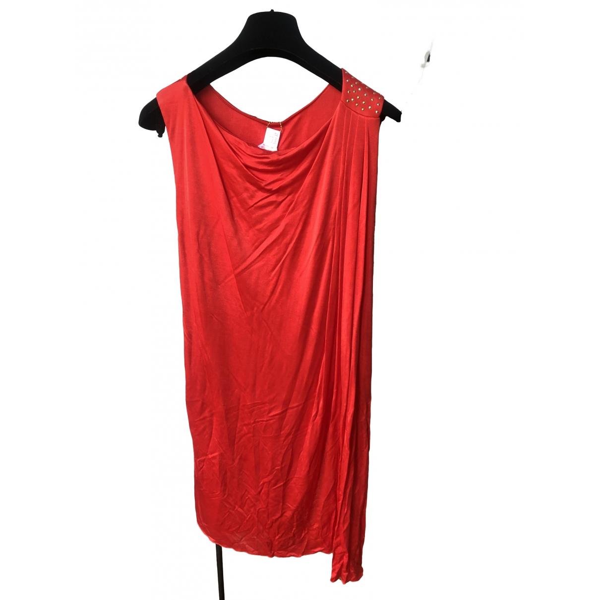 Versace X H&m \N Kleid in  Rot Synthetik