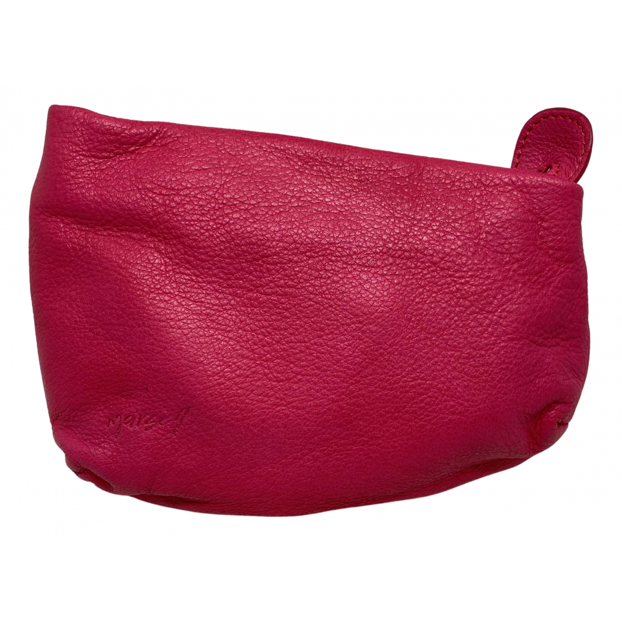 Marsell \N Clutch in  Rot Leder