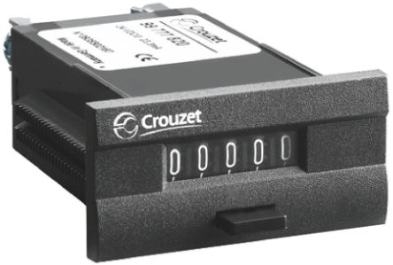 Crouzet CIM24, 5 Digit, Mechanical, Counter, 230 V ac