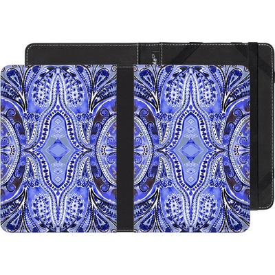 Sony Reader PRS-T2 eBook Reader Huelle - Paisley Blue von Amy Sia