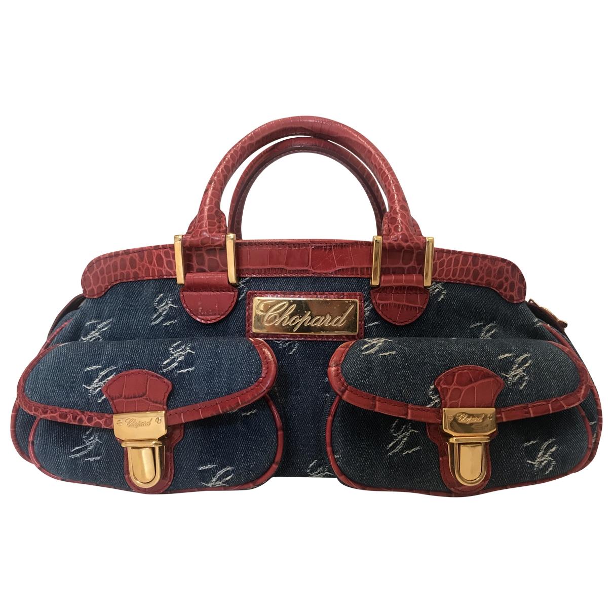 Chopard \N Blue Denim - Jeans handbag for Women \N