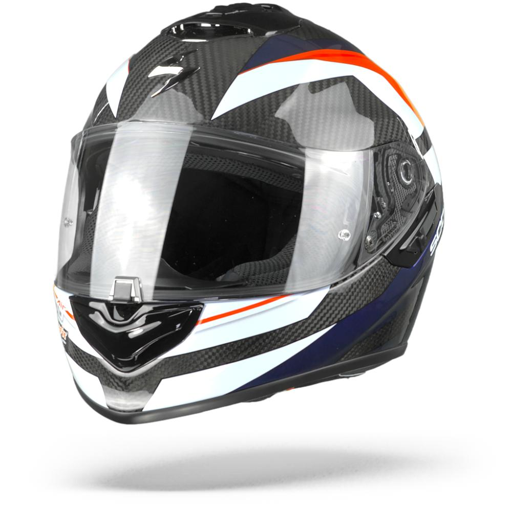 Scorpion EXO-1400 Carbon Air Legione Casco Integral (Full Face) Rojo Azul XL