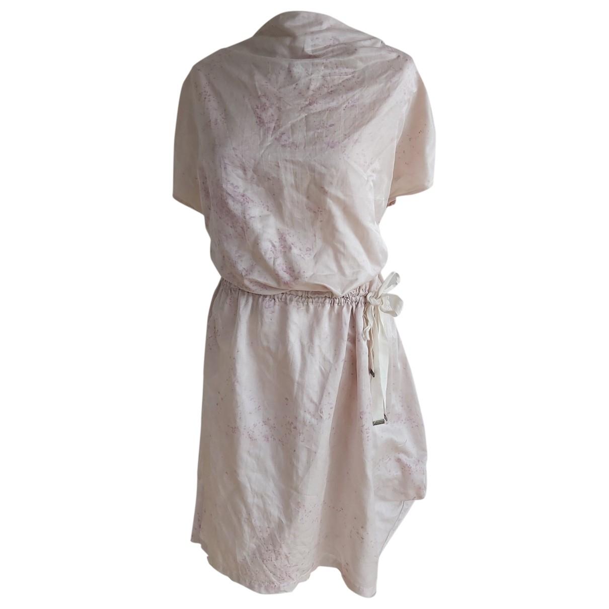 Won Hundred \N Kleid in  Rosa Viskose