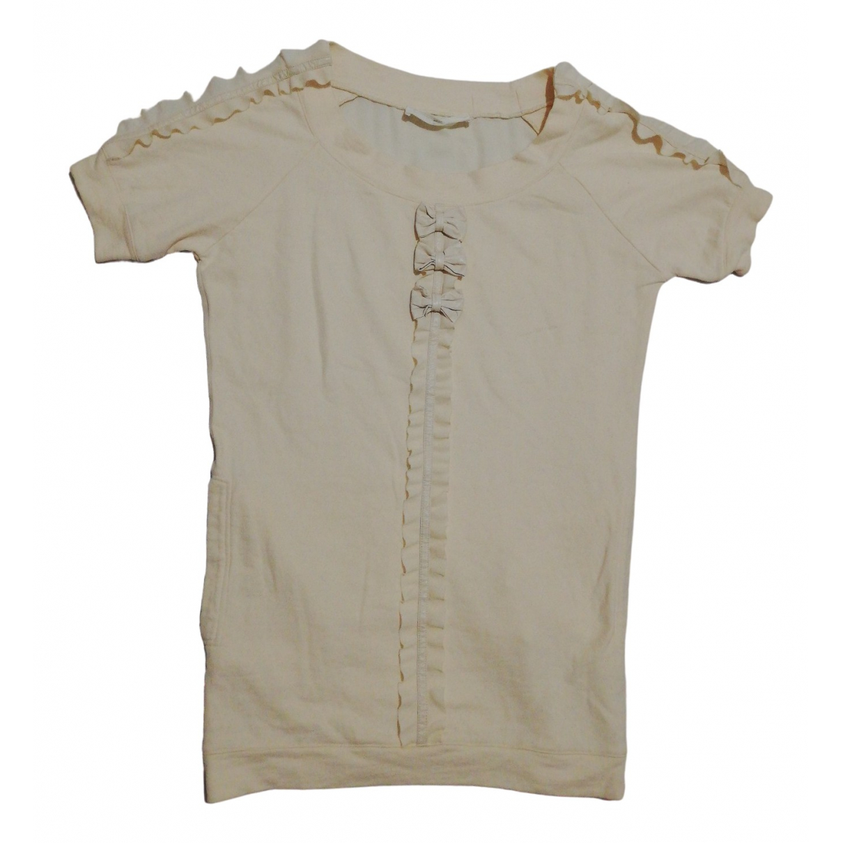 Elisabetta Franchi \N Cotton  top for Women 40 IT