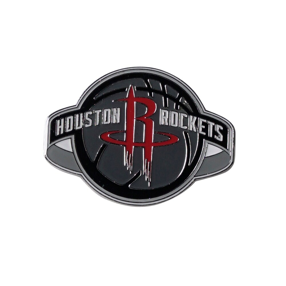 houston rockets lapel pin grande logo 2 inch (Exact Color)