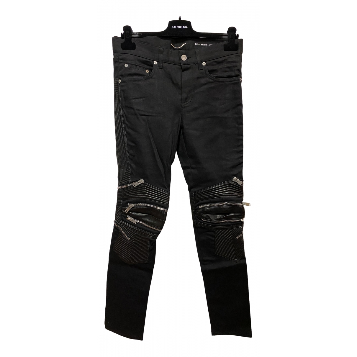Saint Laurent \N Black Cotton Jeans for Men 29 US