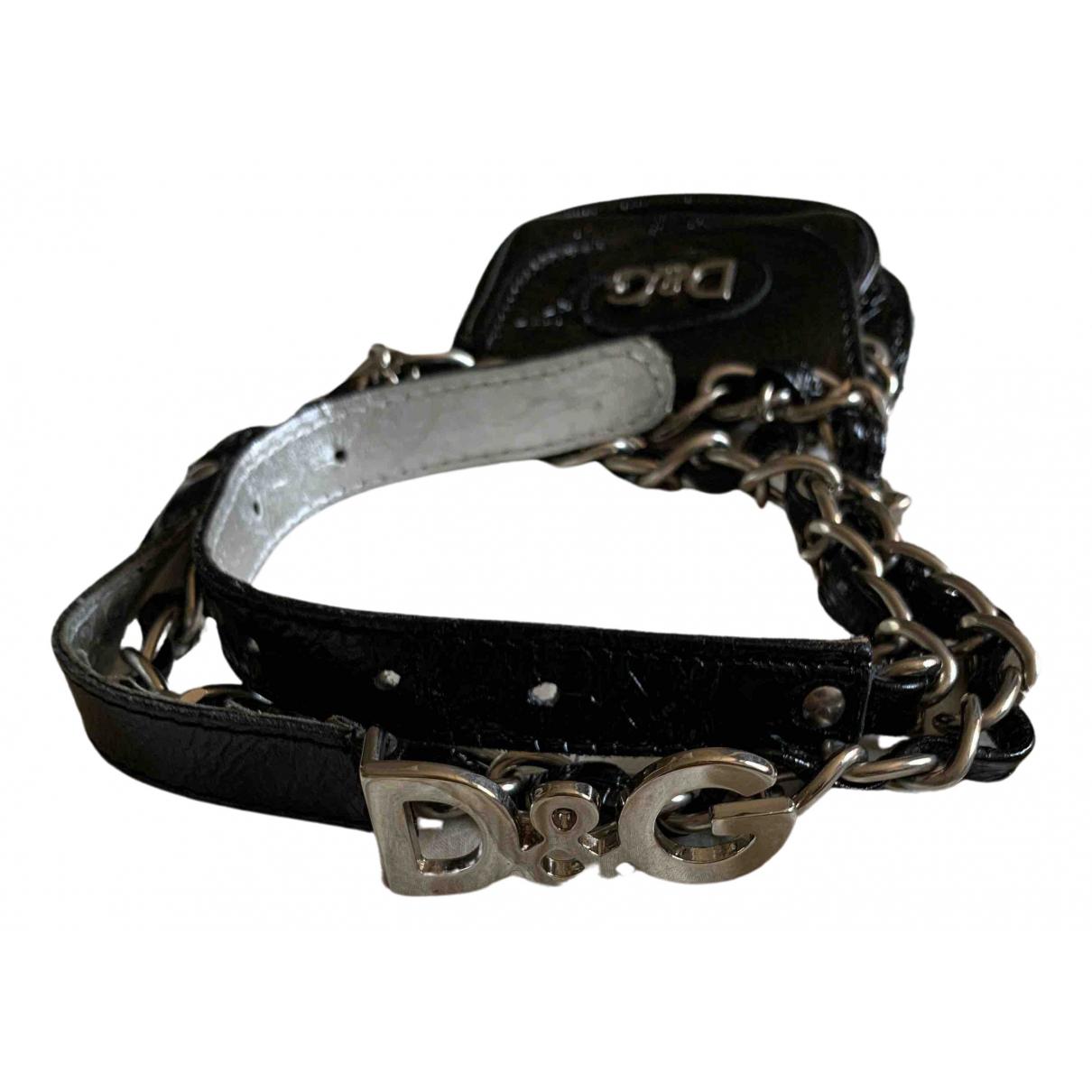 Cinturon de Charol D&g