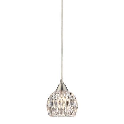 10342/1 Kersey Collection 1 Light mini Pendant in Satin