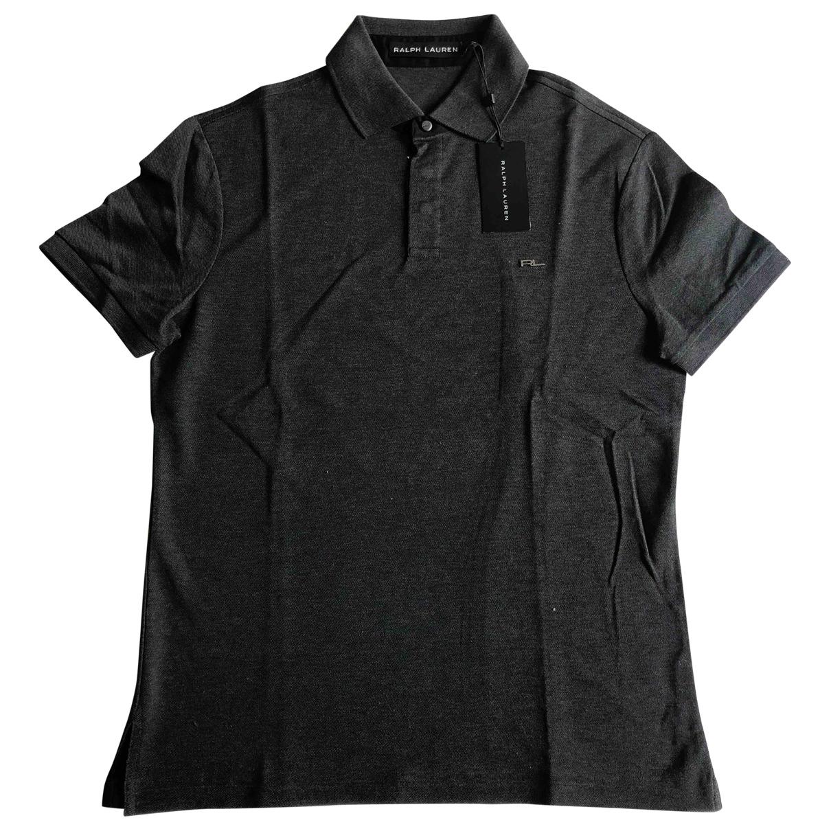 Ralph Lauren - Polos   pour homme en coton - anthracite