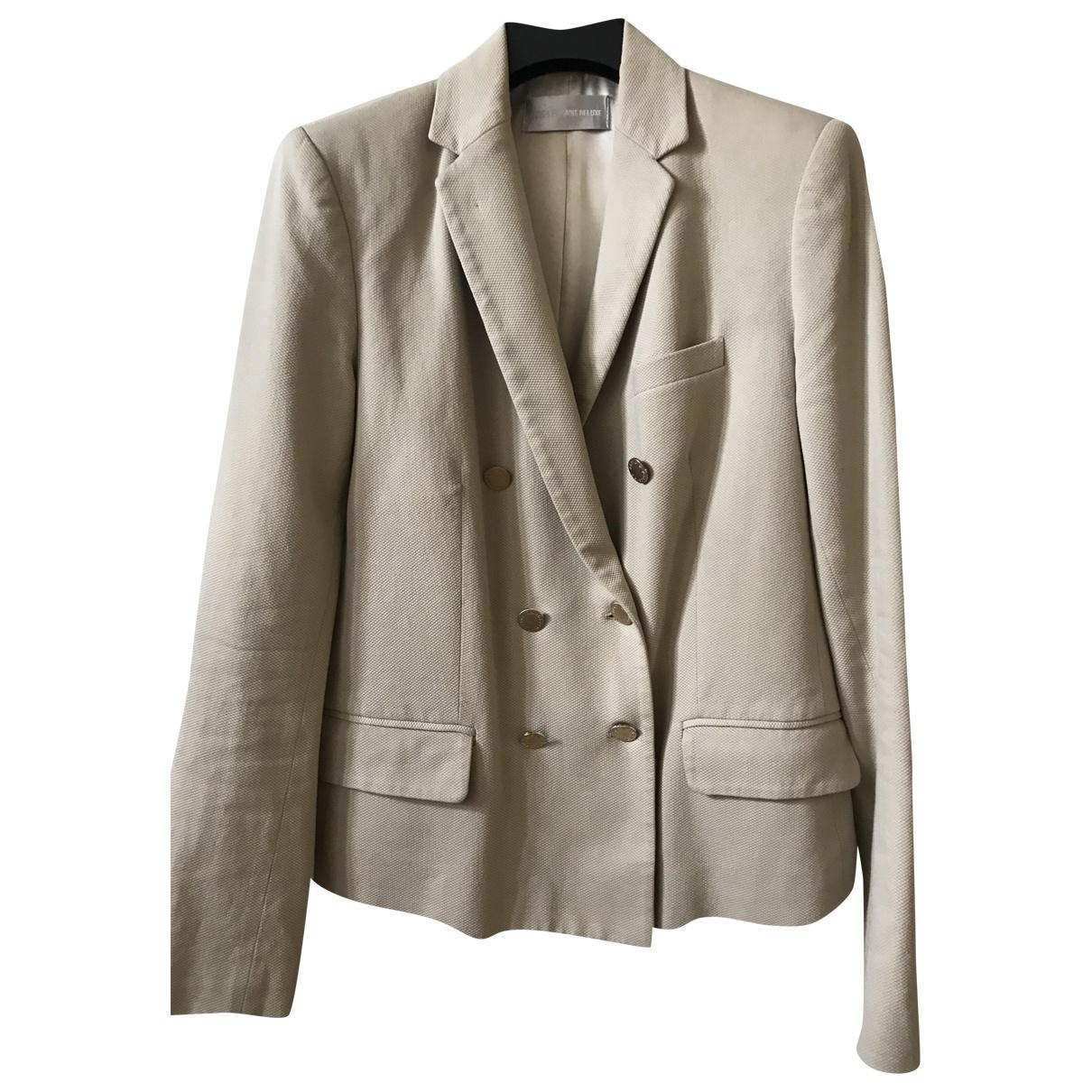Zadig & Voltaire \N Beige Cotton jacket for Women L International