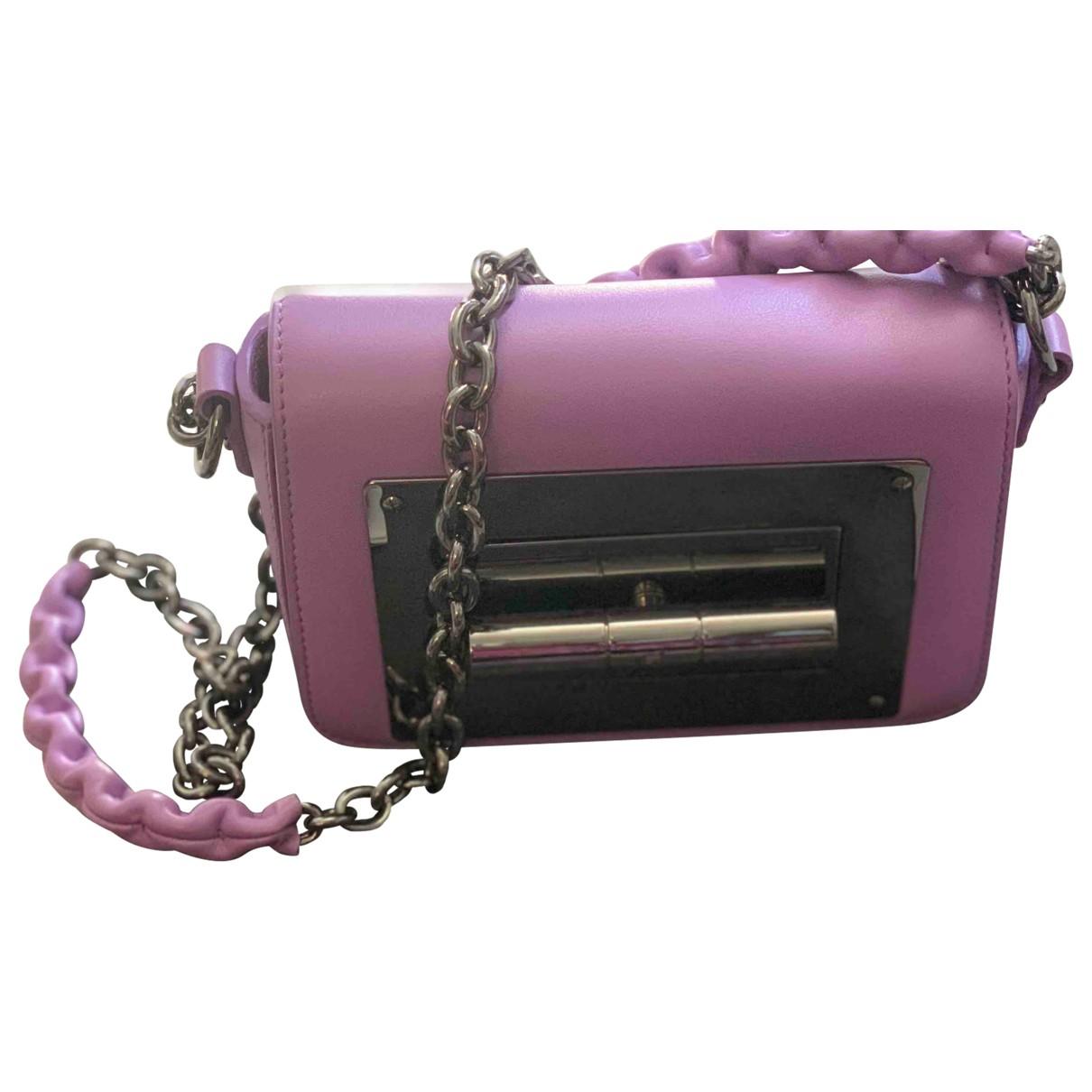 Tom Ford Natalia Purple Leather handbag for Women \N