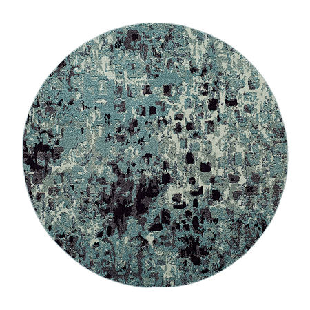 Safavieh Monaco Collection Doreen Abstract Round Area Rug, One Size , Multiple Colors