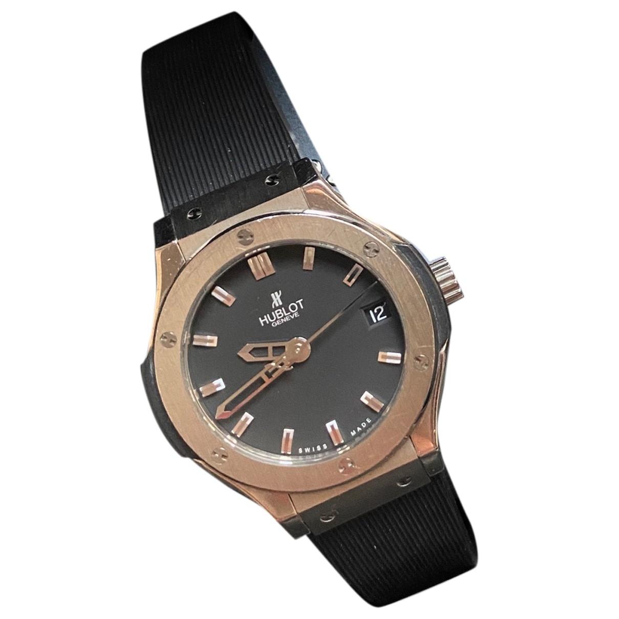 Hublot Classic Fusion Uhr in  Schwarz Titan