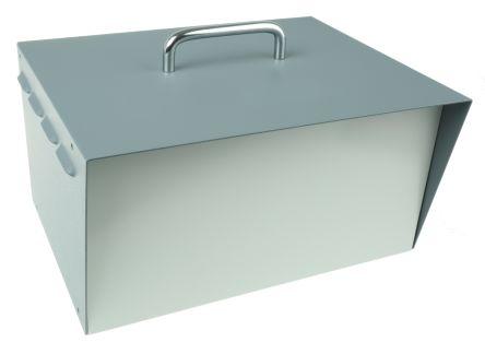 Hammond Grey Steel Project Box, 197 x 298 x 159 mm, 245 x 298 x 159 mm