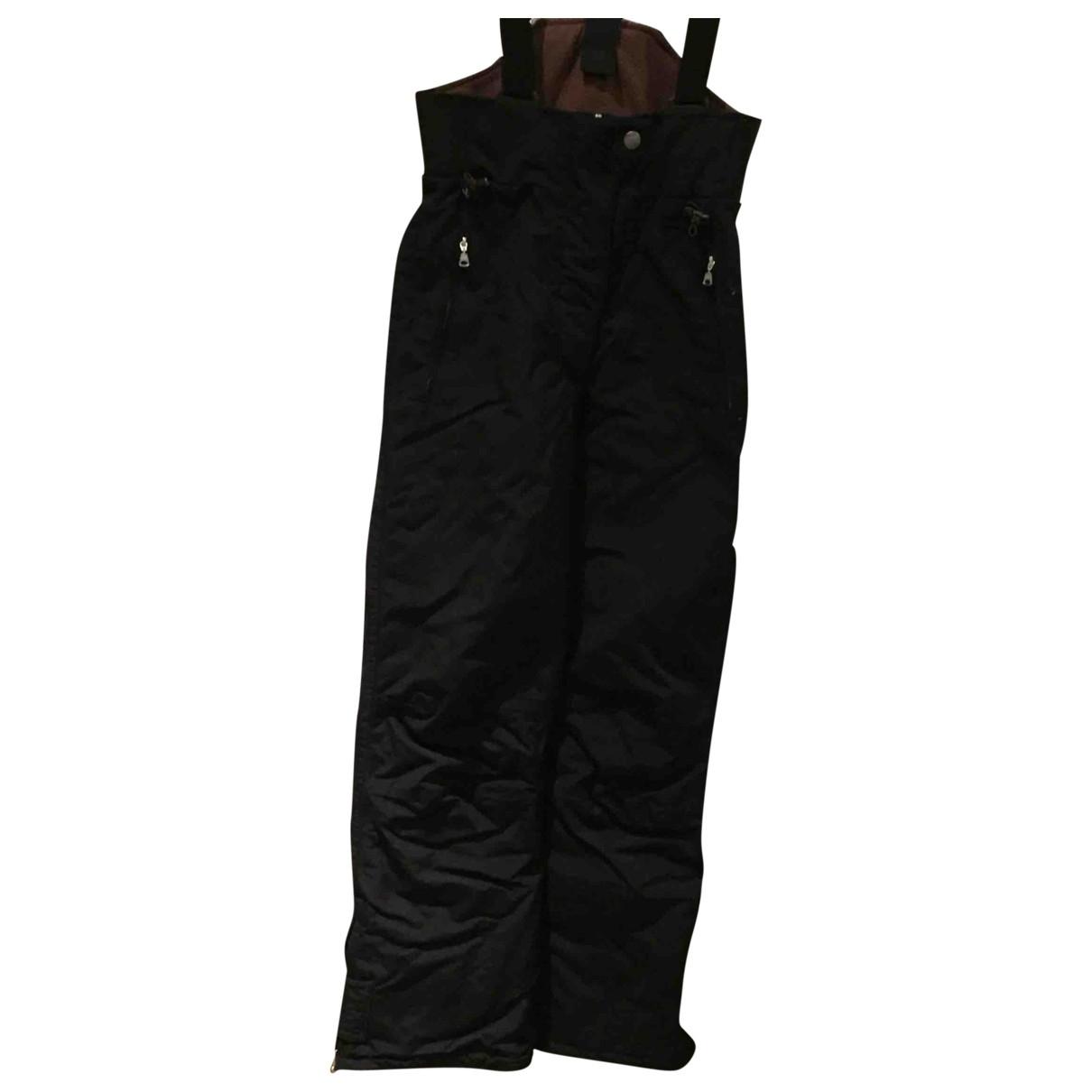 Napapijri - Pantalon   pour femme en toile - noir