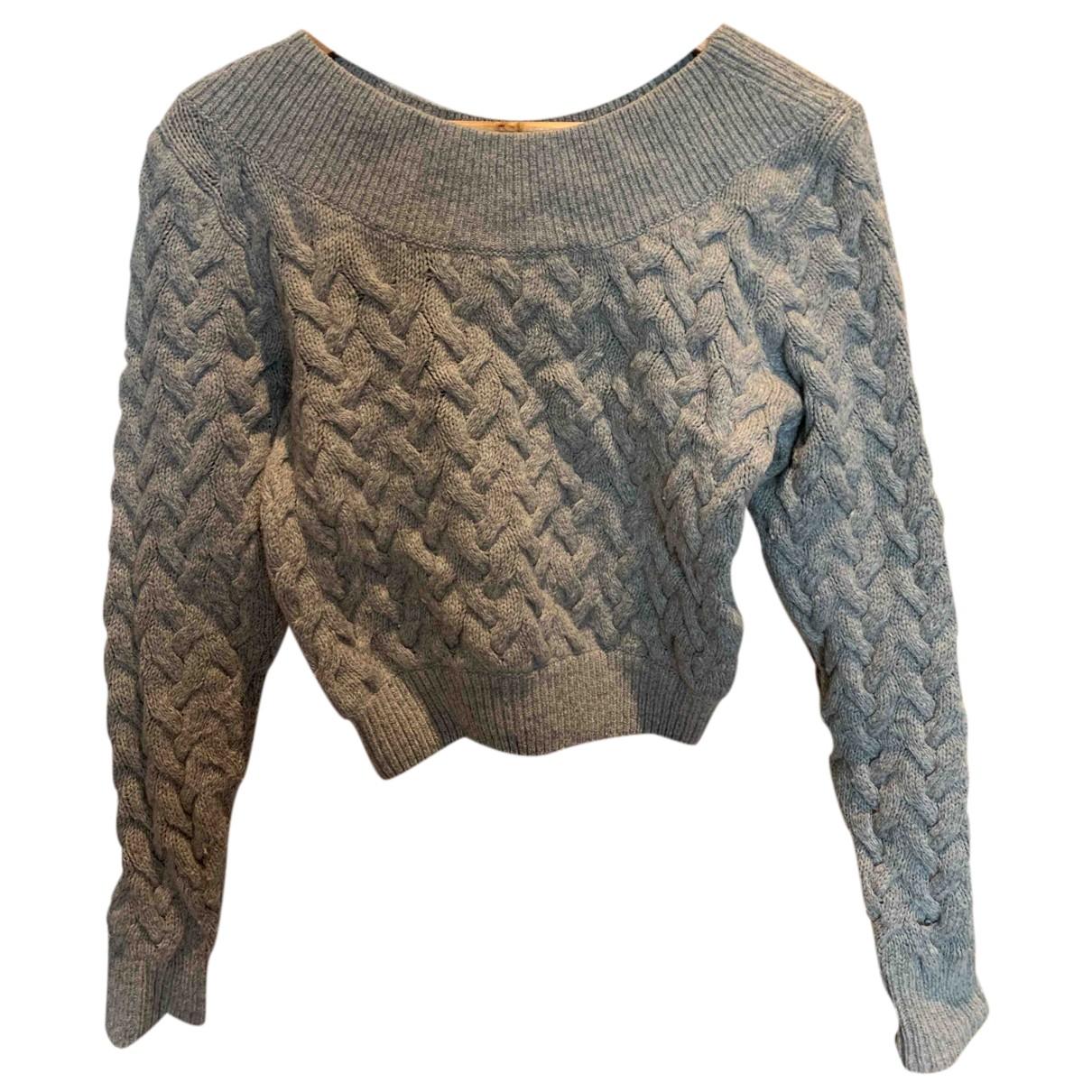 & Other Stories - Pull   pour femme en laine - gris