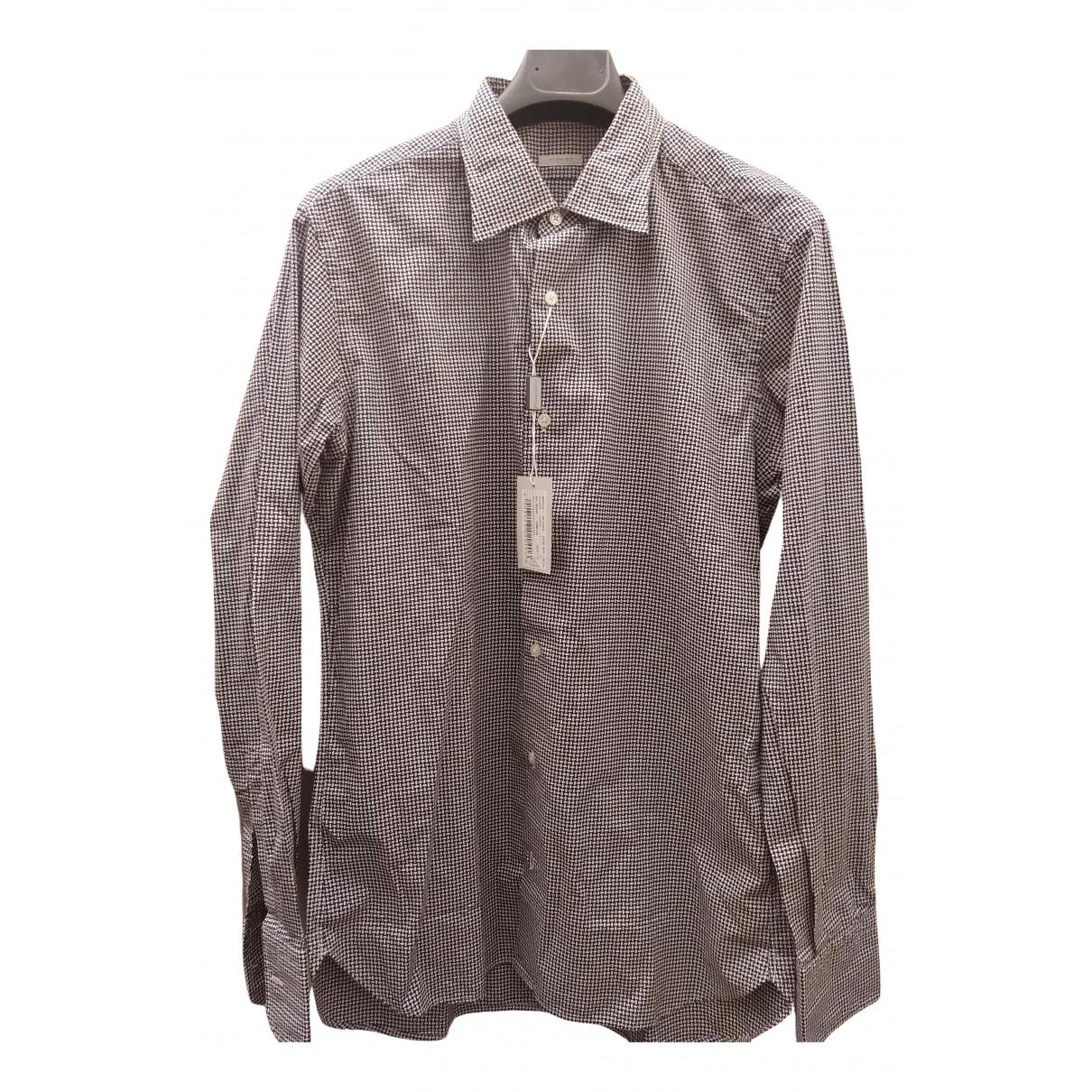 Massimo Piombo - Chemises   pour homme en coton - multicolore