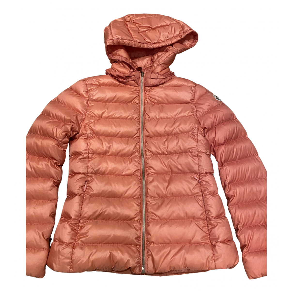 Moncler Hood Pink jacket & coat for Kids 6 years - up to 114cm FR