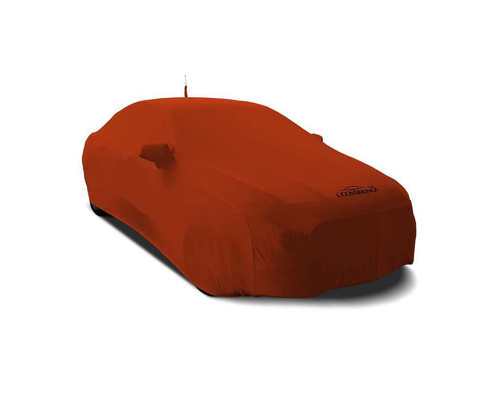 Coverking CVC2SS82MA9416 CVC2SS82 Satin Stretch Go Mango Orange Custom Car Cover Mazda MX-5 Miata 2016-2021